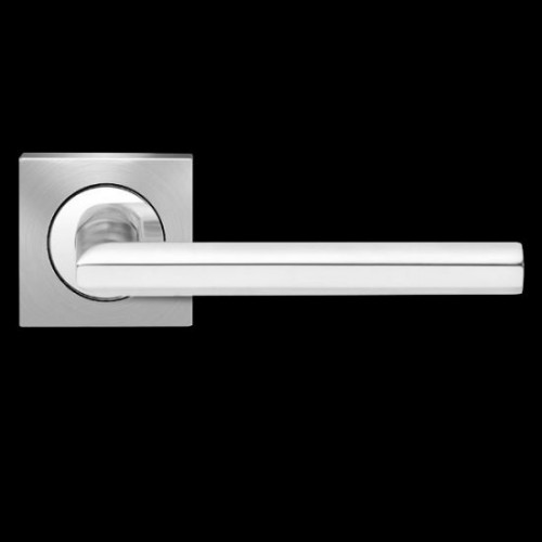 Karcher Design Porto ER43Q Door Lever Handle on a Square Rose
